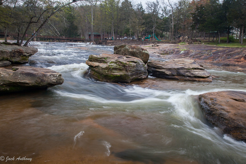 Hurricane Shoals  County Park  in Maysville, Ga.