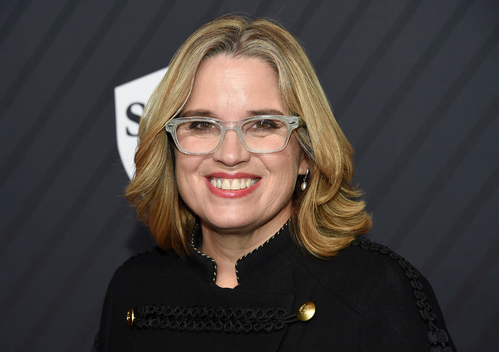 . Mayor of San Juan, Puerto Rico, Carmen Yulin Cruz, attends the Sports Illustrated 2017 Sportsperson of the Year Awards at the Barclays Center on Tuesday, Dec. 5, 2017, in New York. (Photo by Evan Agostini/Invision/AP)