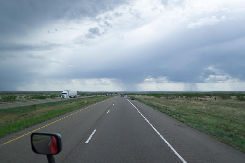 Texas Panhandle Rain Showers