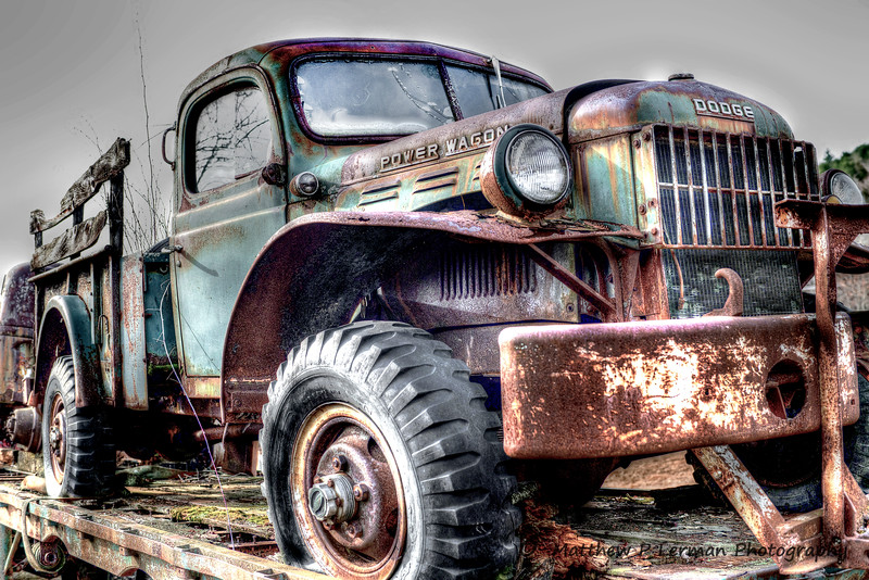 Vintage Dodge Power Wagon  --Berlin, NY  #812