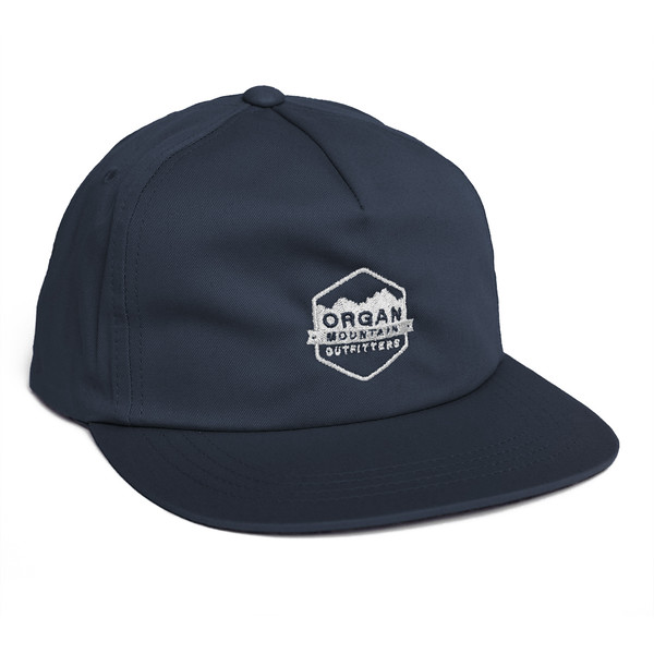 Outdoor Apparel - Organ Mountain Outfitters - Hat - Classic Snapback - Navy.jpg