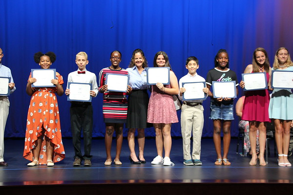 7th Grade Moving Up Ceremony
