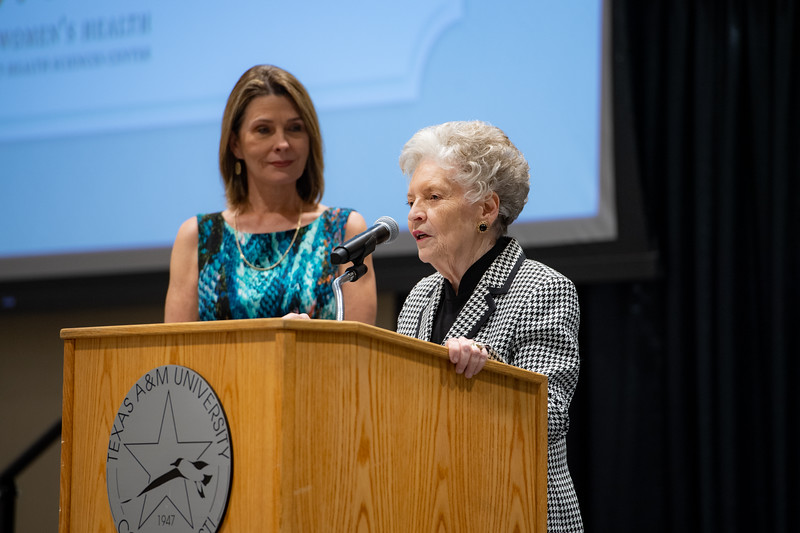 The Laura Bush Foundation held the Day of the Woman event at TAMU-CC's University Center in the Anchor Ballroom.
