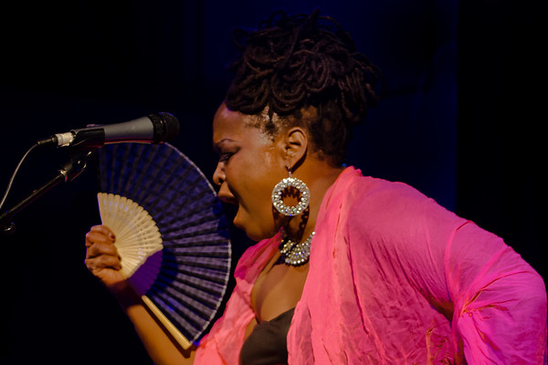 Terrie Odabi at Club Fox Blues Jam