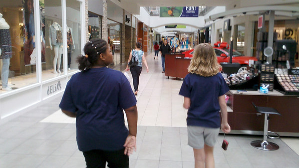 Girl Scout Mall Scavenger Hunt