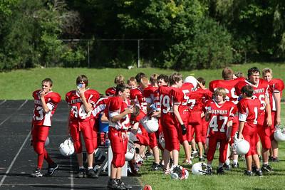 Boys 8th Grade Football - 2008-2009 - 9/17/2008 Fruitport