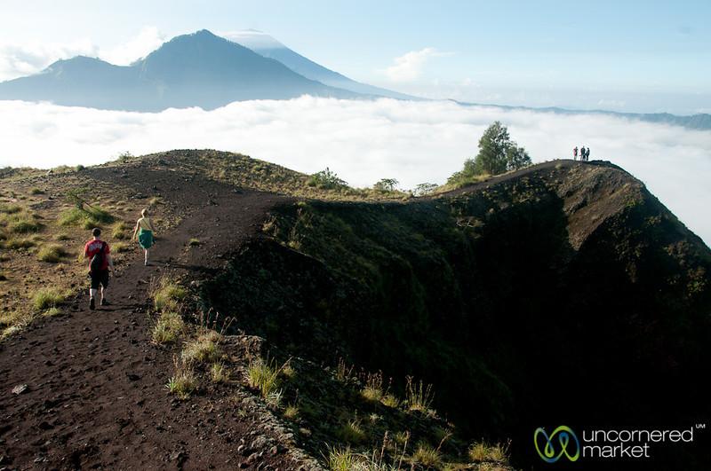 Hiking Down Mt. Batur - Bali, Indonesia
