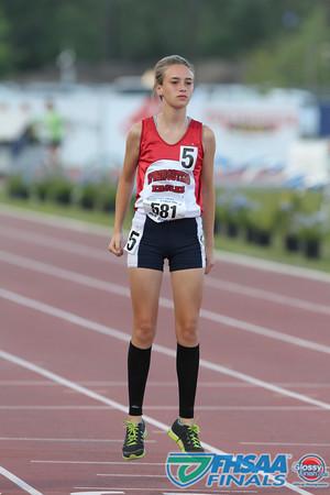 Class 3A - Running Event Finals - Girls 800m Run