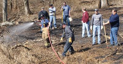 Brush Fire Walker Township (3-30-2013)
