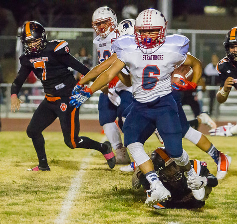 Strathmore Spartans vs Woodlake Tigers 10-04-19