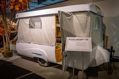 1955 Ranger Fiberglass Pop-Up Tent Trailer