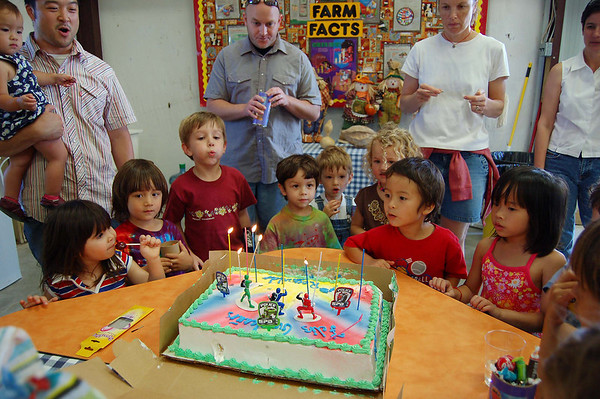 Rey's birthday party