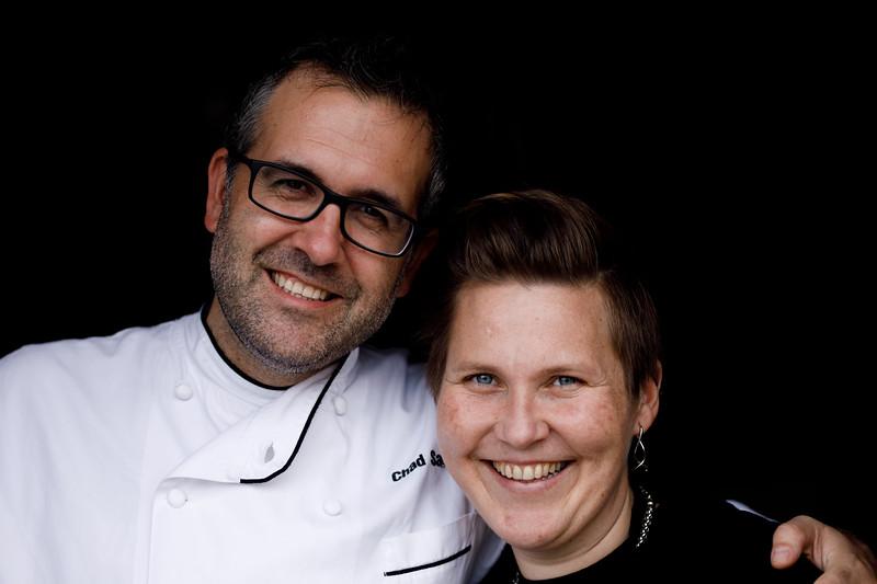 Chad Sarno and Heidi Lovig