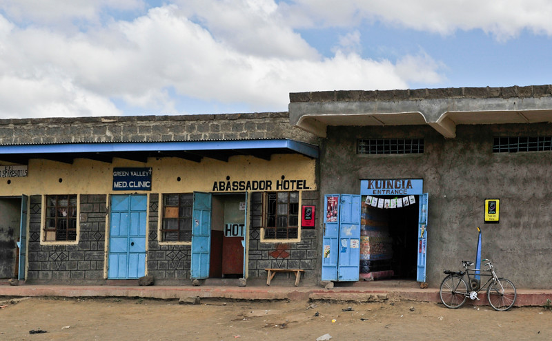 Hotels, rural Kenya