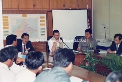 1994 - LAWATAN PENGERUSI MARA  KE SABAH