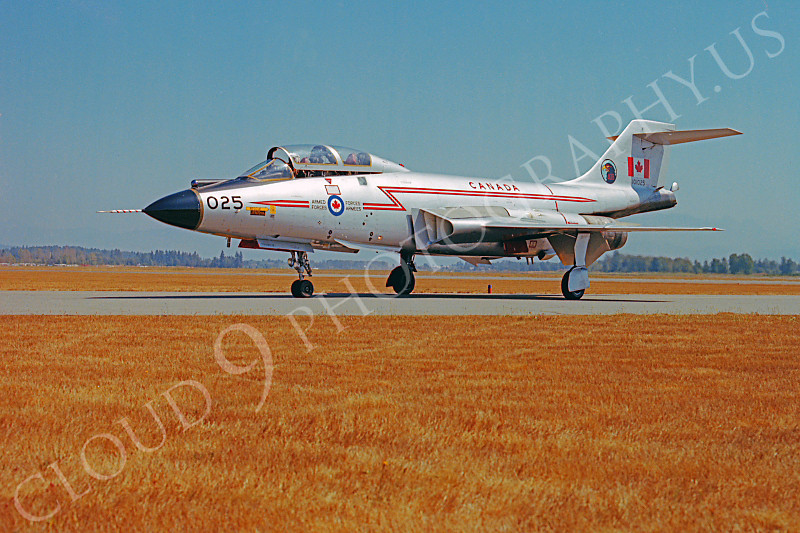 F-101BForg 00005 McDonnell F-101B Voodoo Canadian Armed Forces 101025 Abbottsford by Peter B Lewis.JPG