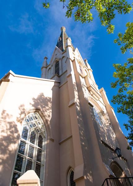 First Baptist Church. Raleigh, NC. August 4, 2020