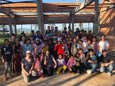 NIS Homebuilders at Work in Cambodia