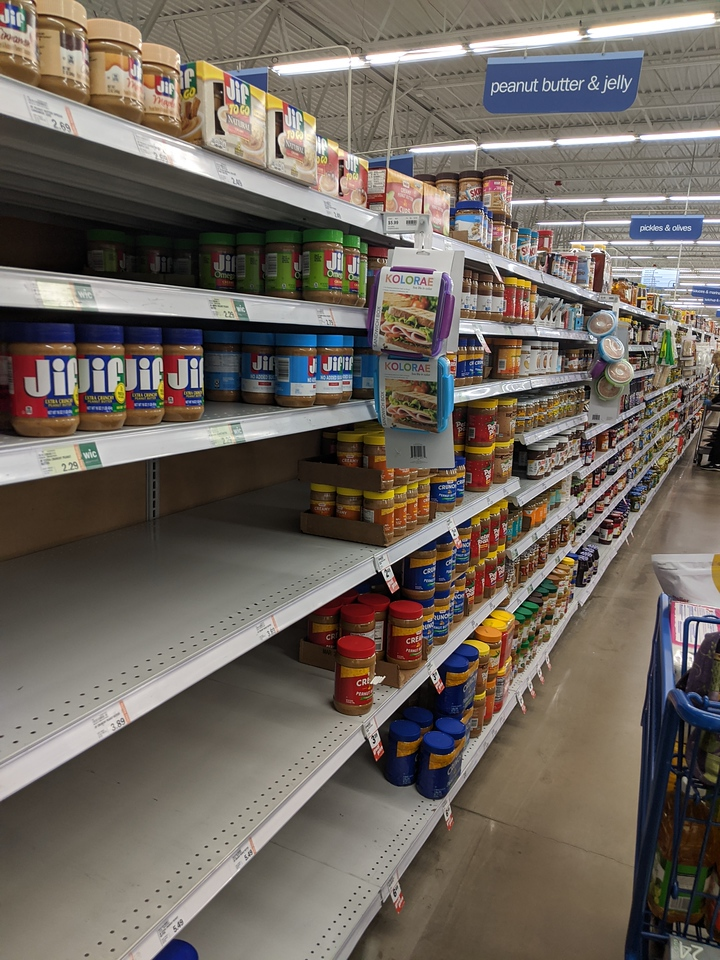 Peanut Butter, Meijer, Apr 19, 2020