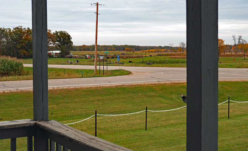 View to the southeast from Burleene Town Hall