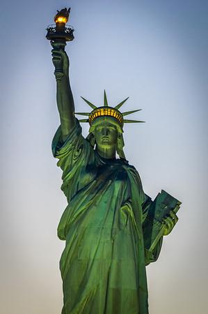 World Trade/Lady Liberty NYC 2014