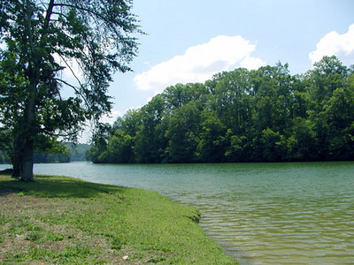 Melton Hill Lake at Clark Park Recreation Center 6/20/07