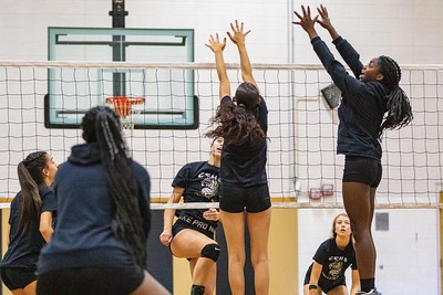 CCHS Volleyball Scrimmages 2019-08-24