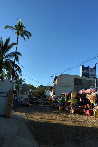 Main Street in Chacala