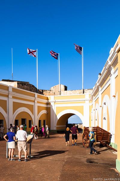 Castillo San Felipe del Morro Inteiror