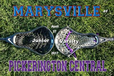 2017 Marysville at Pickerington Central (04-27-17) JUNIOR VARSITY
