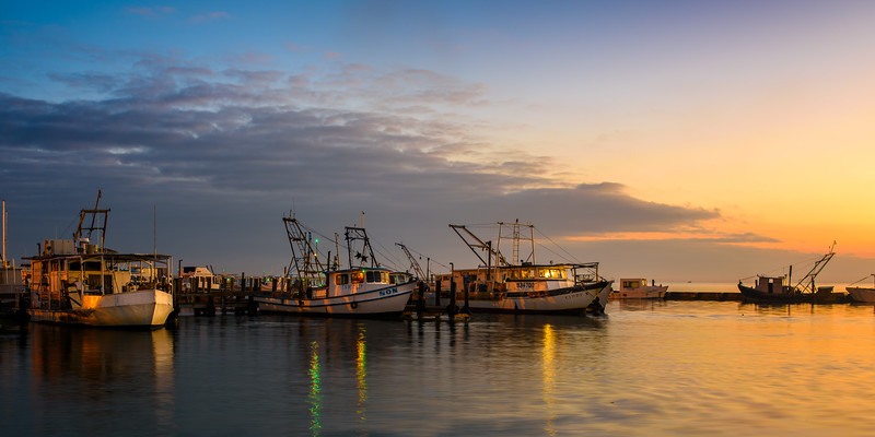 Aransas Bay Son Shrimper Sunrise