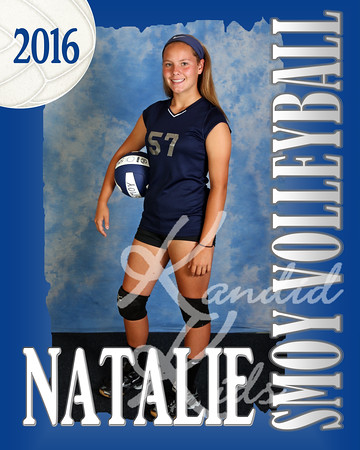 2016 8th Grade Volleyball Posters