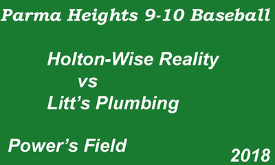 180607 Parma Heights Boy's 9-10 Baseball Power's Field