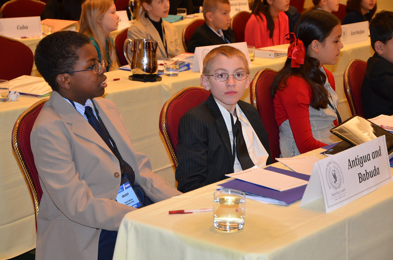 Day 2 committee for Sheldon & Ian on reducing child mortality.