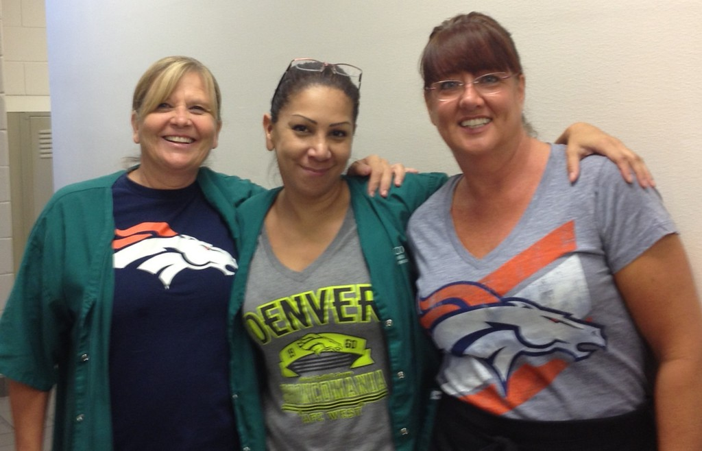 . Bronco colors. Photo by Dianna Boyer