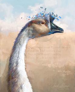 """Goose Visions"" (digital) by Chuck Egnaczak"