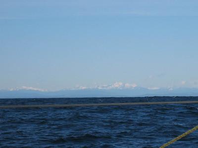 At sea from Neah Bay to San Francisco