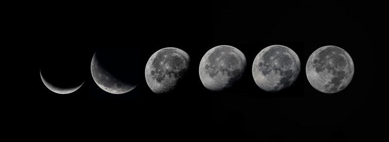 8.27.18-9.6.18 - Beaver Lake: Luna Phases