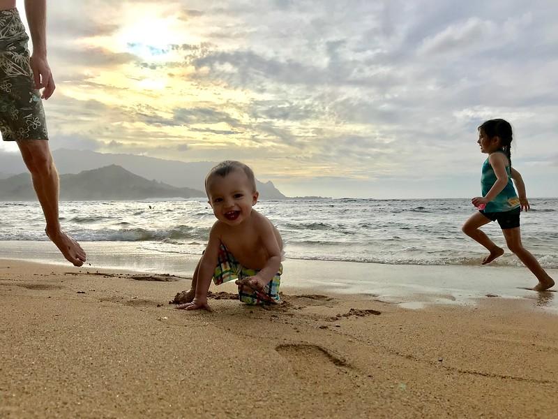 Pu'u Poa Beach Asher & Malia