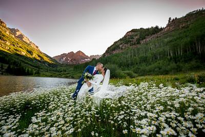 Cinzia & Seth in Aspen Mtn / Maroon Bells