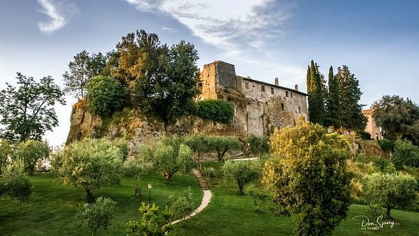 Castle Farm North of Rome, Italy