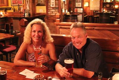 Yvette & Steve Gibson Visit 2013