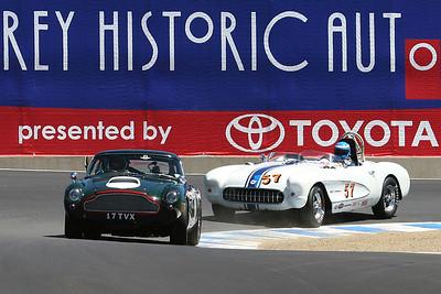 2007 Monterey Historics - Various Groups - on track