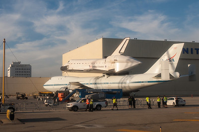 Shuttle at LAX