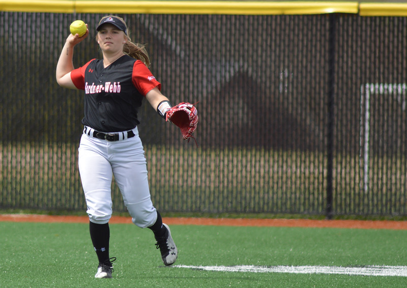 Gardner-Webb University Softball team takes on Charleston Southern in a double header Sunday afternoon.