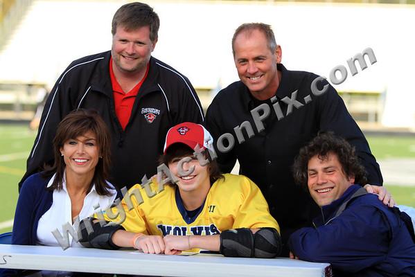 2010 04 29 Clarkston Varsity LaCrosse vs Troy