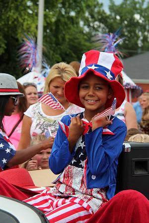 2013,  July 4th Pre Parade