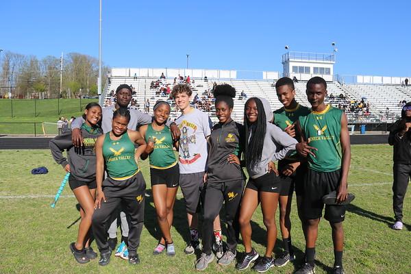 SV Track Team vs. Clarkeburg HS 4-16-2019