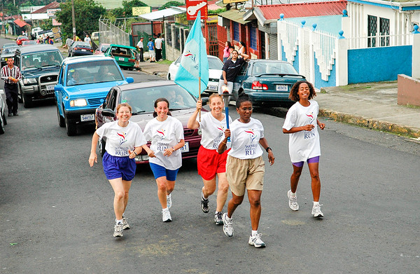World Harmony Run in Costa Rica