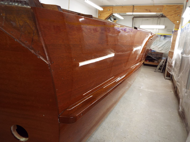 Rear starboard side wheeled out.